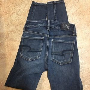 American Eagle Outfitters Jeans - 2 for 15$💜 Juniors skinny jeans